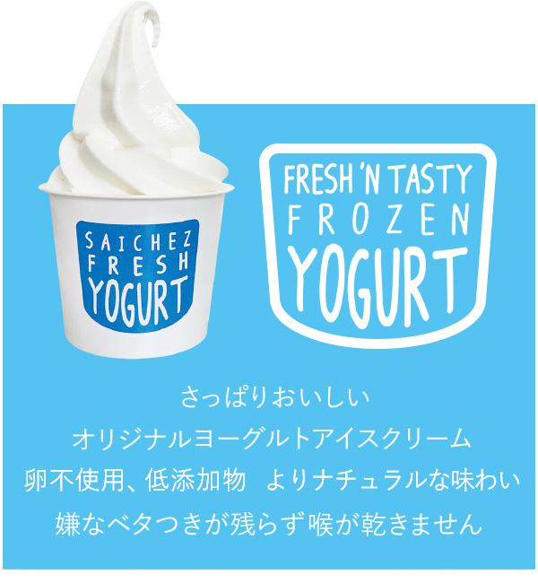 さっぱりおいしいオリジナルヨーグルトアイスクリーム 卵不使用 増粘剤不使用 嫌なベタつきが残らず喉が乾きません